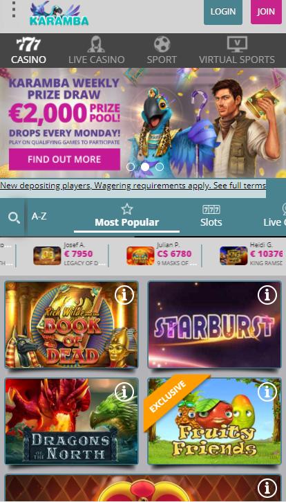 karabma casino